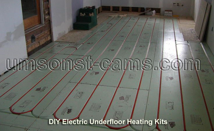 DIY Electric Underfloor Heating Kits