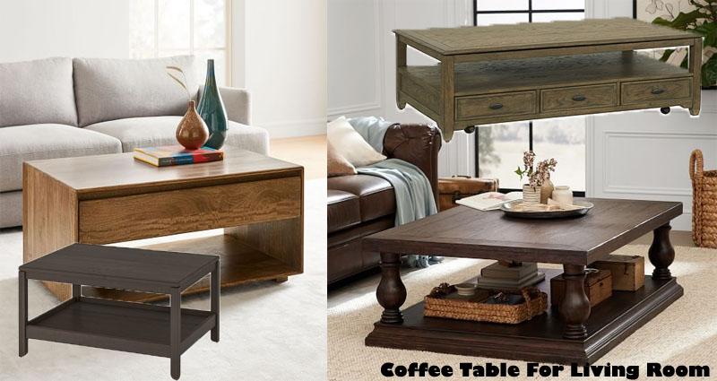 How To Choose The Right Coffee Table For Your Living Room