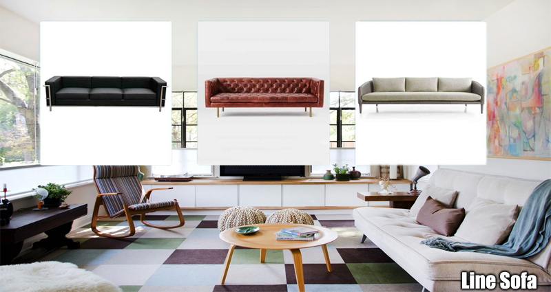 Contemporary Clean Line Sofas Are Best For the Trendy Home